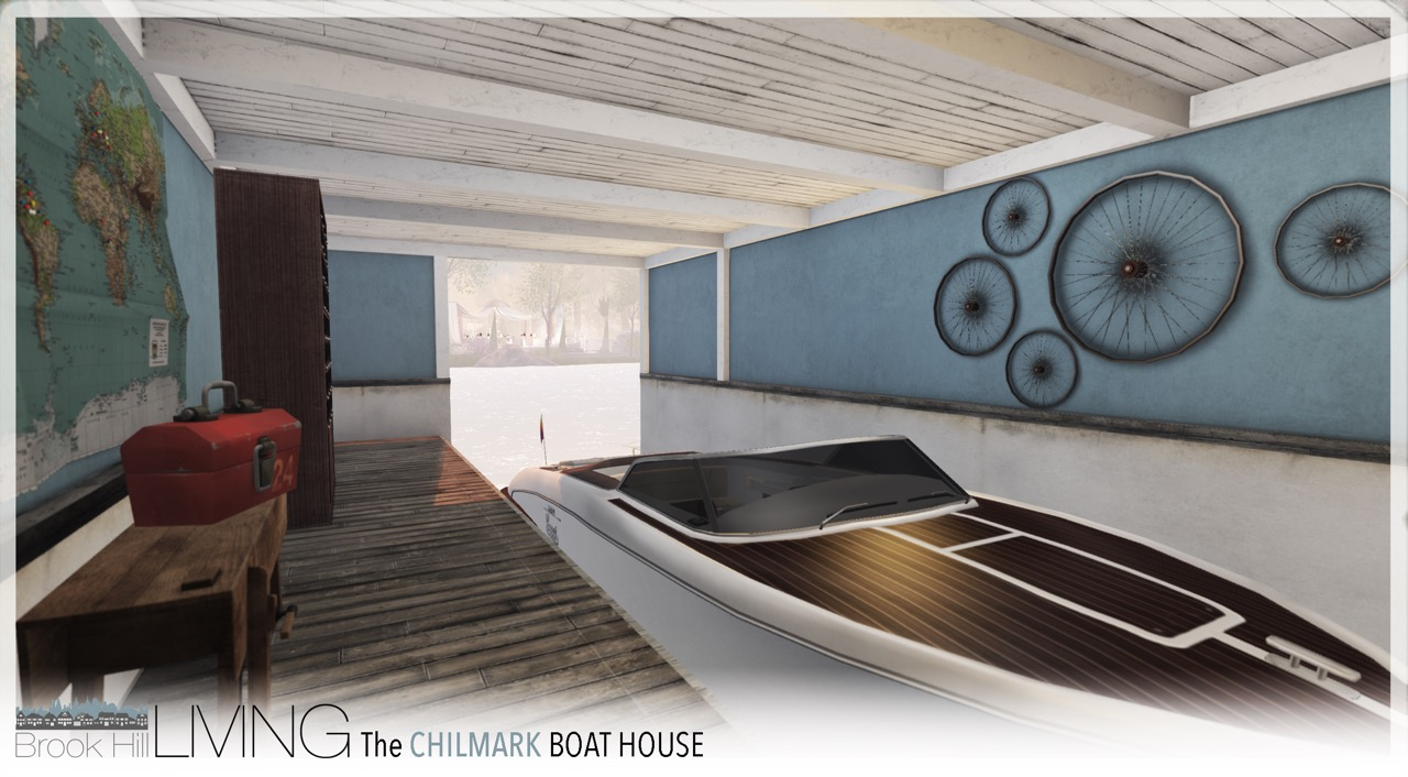 The Chilmark Boat House v1.0 | Brook Hill on warehouse designs, boat architecture, beach designs, bank designs, boat lift designs, canoe designs, fishing designs, pier designs, boat dock, boat fashion, boat slip designs, boat flowers, island designs, rv designs, unique boat designs, barge designs, zoo designs, homemade houseboat designs, garage designs, road designs,