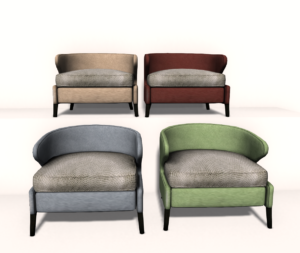 The Vienna Chair comes in four different colors